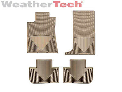 WeatherTech All-Weather Floor Mats - Cadillac CTS w/AWD - 2008-2012 - Tan