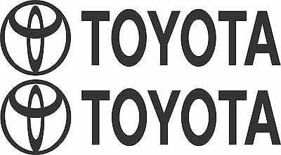 Toyota Stickers 2 x 275 x 50 Quality Stickers made for the outdoors