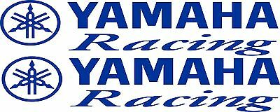 Yamaha Racing Stickers 2 x 500 x 100 Quality Stickers UV protected