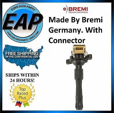 For BMW 3 5 7 8 Series M3 M5 X5 E46 BREMI Direct Spark Plug Ignition Coil w/Boot