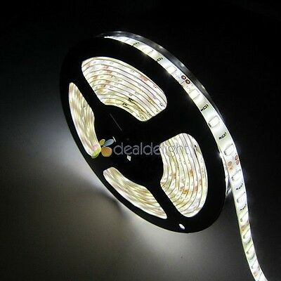 Super Bright 12v 5M 5630 SMD 300 leds Waterproof Nature White Flexible LED Strip