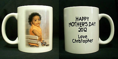 Custom Ceramic Photo Coffee Mugs 11oz Personalized Gift