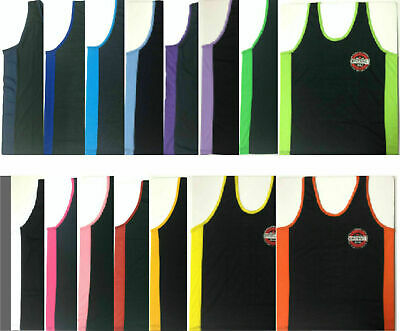 Bali Bintang Beer Singlet - Black Assorted Colours & Sizes - Xs S M L Xl 2Xl 3Xl
