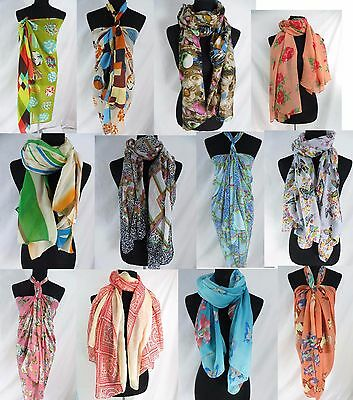 Lot of 10 wholesale shawls beach wrap all seasons scarves
