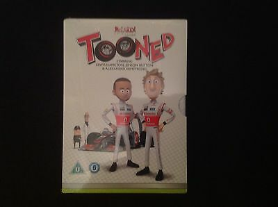 Vodafone  Mclaren Mercedes 2012 Tooned DVD ( brand new and still sealed )