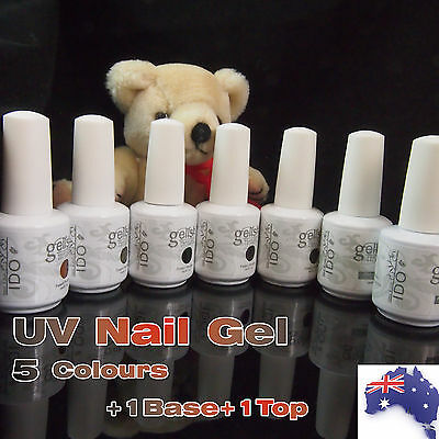 Set of 4/6/7 Soak Off UV Nail Gel Curing Polish GELISH I DO 15ml (needs uv lamp)