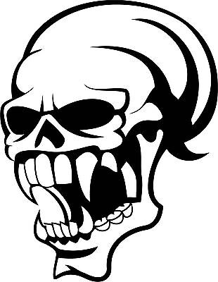 Skull Sticker200 x 155 great stickers made from Marine grade material.