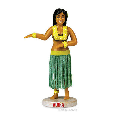 "5"" inch Dashboard Hula Girl Luau Hawaiian Dancing Car Doll Wiggling Dancer Girl"