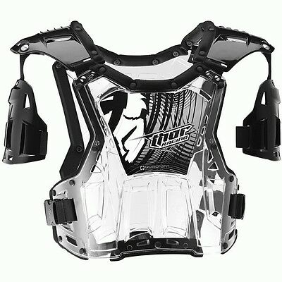 Thor NEW Mx Quadrant Clear Roost Guard Chest Protector Motocross Body Armour