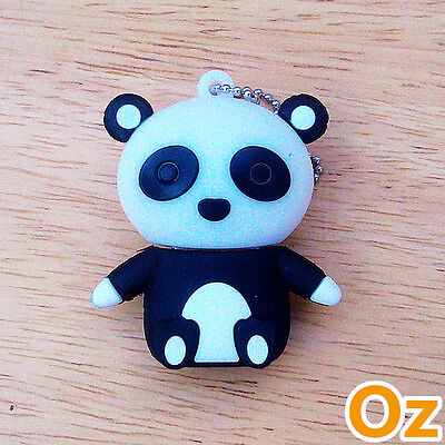 Panda USB Stick, 8GB 3D Quality USB Flash Drives weirdland