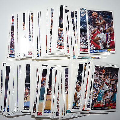 Lot 209 Cartes cards basket SANS DOUBLE NBA Upper Deck UD 1992/93 Version US