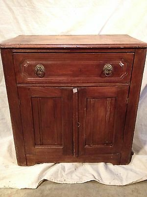 Antique Maple Washstand, Circa 1890s Rustic, ship 4 $79 by Greyhound, make offer