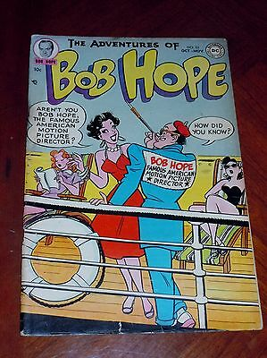 THE ADVENTURES OF BOB HOPE #23 (DC 1953) VG cond. HOPE GOES TO ITALY