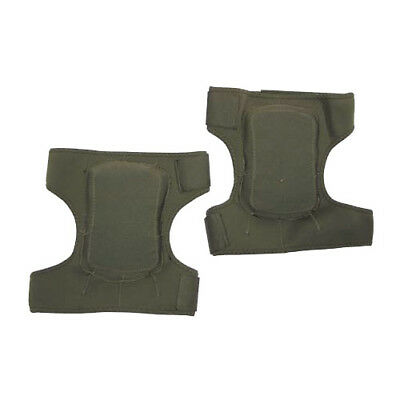 Tactical Neoprene Knee Protection Pads Paintball Airsoft Shooting Hunting Olive