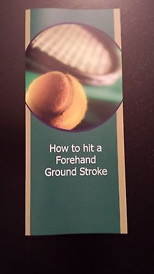 Tennis Lesson - How to hit a Forehand Ground Stroke!