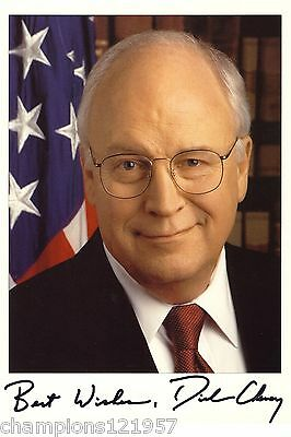 Dick Cheney ++Autogramm++ ++US-Minister++