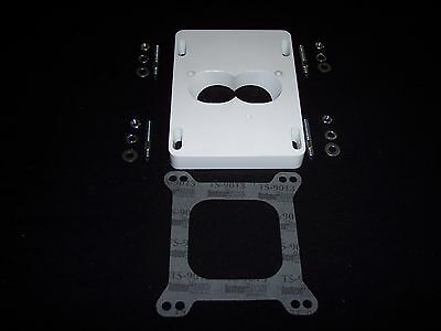 CHEVY TBI Fuel injection to 4 barrel adapter Big Block HOLLEY EDELBROCK USA