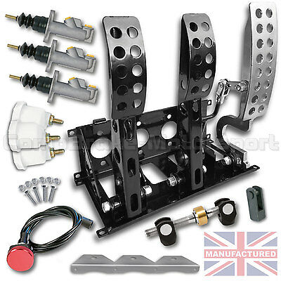 Universal Hydraulic  Floor Mounted Bias Pedal Box Included Kit Cmb0666-Hyd-Kit