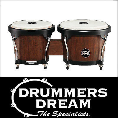 Meinl Percussion Headliner Desinger Wood Bongos -Vintage Barrel Finish Brand NEW