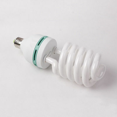 85W 5500K Photography Lighting Studio Daylight Bulb Compact Fluorescent Lamp