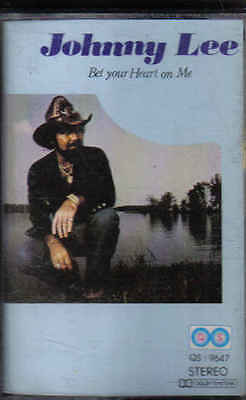 Johnny Lee-Bet Your Heart On Me Music Cassette