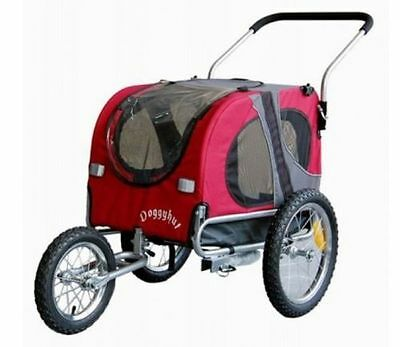Rimorchio Trasportino cane bici Trailer Starline Jogger Medium Rare