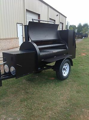 BBQ Smoker/Cooker Competition Style Trailer Brand NEW AND GREAT PRICE