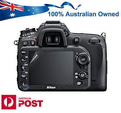 LCD Screen Protector Guard for Nikon D7200 D7100 Digital Camera DSLR AUS