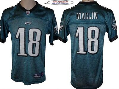 Maillot nfl Foot US américain EAGLES18 Maclin Taille S ou 14 Ans (fr)