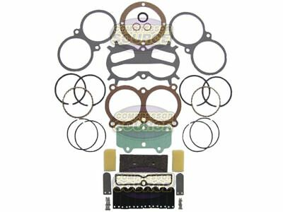 """Complete Rebuild Kit For Campbell Hausfeld Air Compressor Pump With 2 3/4"""" Rings"""