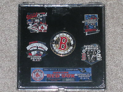 Boston Red Sox 2004 World Series Champions Pin Collection(Limited Edition)