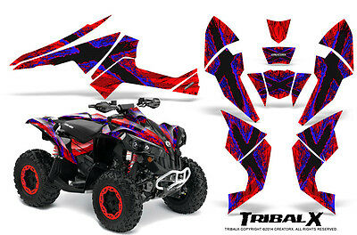Can-Am Renegade Graphics Kit by CreatorX Decals Stickers TRIBALX BLR