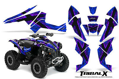 Can-Am Renegade Graphics Kit by CreatorX Decals Stickers TRIBALX PRBL