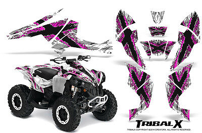 Can-Am Renegade Graphics Kit by CreatorX Decals Stickers TRIBALX PW
