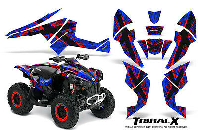 Can-Am Renegade Graphics Kit by CreatorX Decals Stickers TRIBALX RBL
