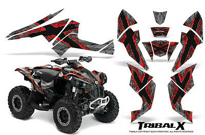 Can-Am Renegade Graphics Kit by CreatorX Decals Stickers TRIBALX RS