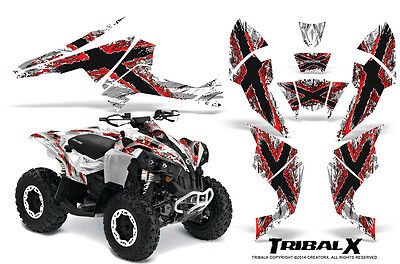 Can-Am Renegade Graphics Kit by CreatorX Decals Stickers TRIBALX RW