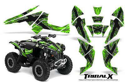Can-Am Renegade Graphics Kit by CreatorX Decals Stickers TRIBALX SG