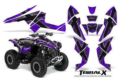 Can-Am Renegade Graphics Kit by CreatorX Decals Stickers TRIBALX SPR