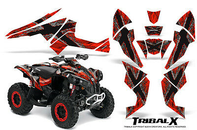Can-Am Renegade Graphics Kit by CreatorX Decals Stickers TRIBALX SR