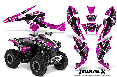 Can-Am Renegade Graphics Kit by CreatorX Decals Stickers TRIBALX WP