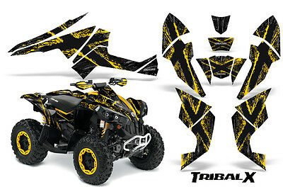 Can-Am Renegade Graphics Kit by CreatorX Decals Stickers TRIBALX YB