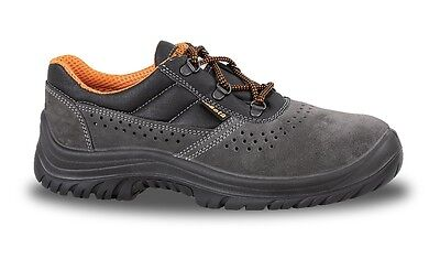 Beta Tools 7246B  Suede Shoe, Perforated  Work Boots 42