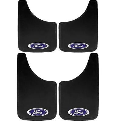 4 Piece Ford Oval Mud Flaps Set