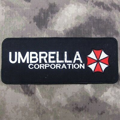 Resident Evil Umbrella Corporation Big Back Of The Body Patch B3218