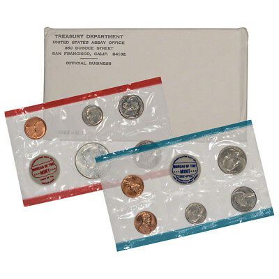 1968 United States Mint Uncirculated Coin Set