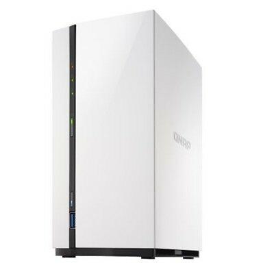 QNAP TS-228A 2 Bay NAS for Home Data backup and Entertainment - Diskless