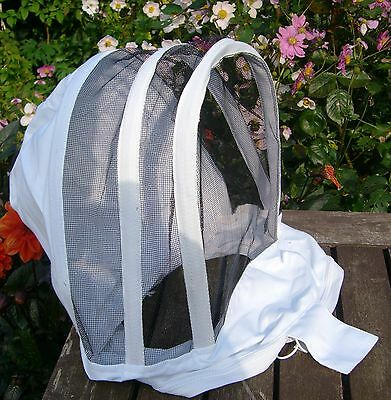 2 x Beekeepers SPARE BEE VEILS / HOODS (for Jackets and Suits)