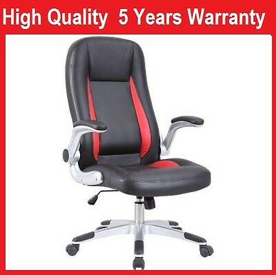 AERO Executive Ergonomic High Back PU Leather Computer Office Chair 5Y Warranty