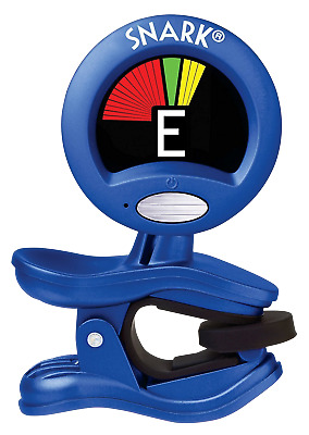 SNARK Guitar & Bass Clip-On Chromatic Tuner *NEW* Blue SN-1X